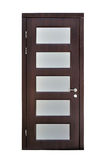 Brown door Royalty Free Stock Image
