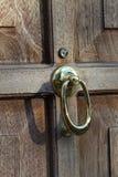 Brown Door Stock Photography