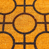 Brown doormat Stock Images
