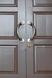 Brown Doors Royalty Free Stock Photos