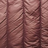 Brown down jacket fragment Royalty Free Stock Images