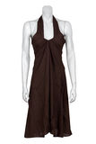 Brown dress Royalty Free Stock Photos