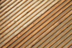 Brown drewniana ściana, tło, drewniana tekstura Obrazy Royalty Free