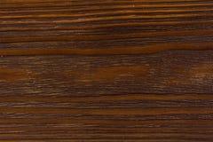 Brown drewniana deska lacquered Zdjęcia Stock