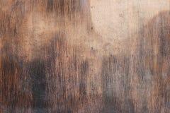 Brown drewniana drzwiowa tekstura Zdjęcie Royalty Free