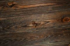 Brown Drewniana struktura Fotografia Stock
