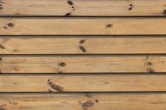 Brown drewniana tekstura Obrazy Royalty Free
