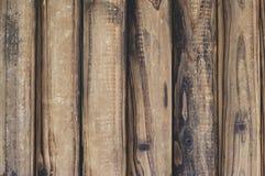 Brown drewniany tekstury tło Rocznik, abstrakt, pusty szablon fotografia stock
