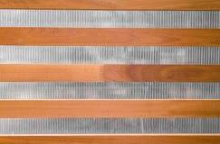 Brown drewniany tekstury tło Fotografia Royalty Free