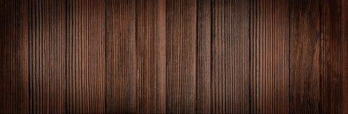 Brown Drewniany zaszaluje tło Zdjęcie Stock