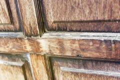 Brown drewno Obraz Stock