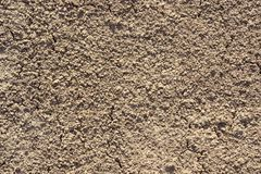 Brown dry earth abstract Stock Images