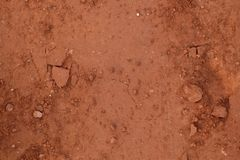 Brown and dry ground texture brown. Ground texture brown and dry stock image