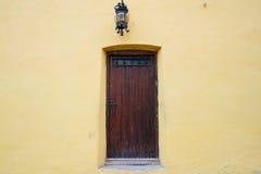 Brown drzwi Obraz Stock