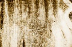Brown e fondo bianco dei colpi del pennello immagine stock