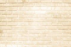 Brown e a parede de tijolo branca texture o resumo do fundo ou do papel de parede fotos de stock