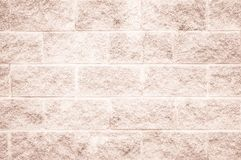 Brown e a parede de tijolo branca texture o resumo do fundo ou do papel de parede fotografia de stock