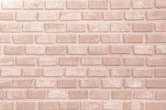 Brown e a parede de tijolo branca texture o resumo do fundo ou do papel de parede imagem de stock royalty free