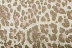 Brown e teste padrão cor-de-rosa do leopardo Fotos de Stock