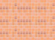 Brown earthenware floor tile seamless background Stock Image