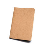 Brown eco notebook or scrapbook Stock Photos