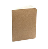 Brown eco notebook or scrapbook Royalty Free Stock Photography