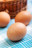 Brown egg Stock Photo