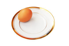 Brown egg Royalty Free Stock Photos