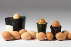 Brown eggs Royalty Free Stock Image