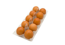Brown Eggs Royalty Free Stock Photo