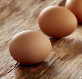 Brown Eggs Close Up Stock Image
