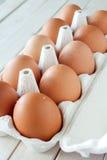 Brown-Eier Stockbilder