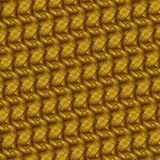 Deep gold and brown elegant background of rhombuses and squares in 3D appearance royalty free illustration