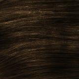 Brown en bonne santé agrafe-dans la texture de cheveux Photos stock