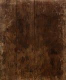 Brown envelheceu o fundo de madeira Imagem de Stock