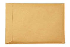Brown envelop Royalty Free Stock Photos