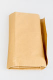 Brown Envelop On White Table Stock Image