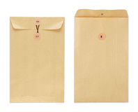 Brown envelope Royalty Free Stock Photo