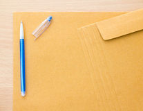 Brown Envelope Royalty Free Stock Photos
