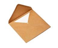 Brown envelope Royalty Free Stock Photo
