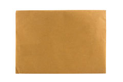 Brown Envelope close up shot Stock Photography