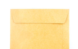 Brown envelope document Stock Photography