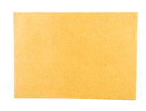 Brown envelope document Stock Photo