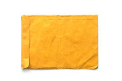 Brown Envelope document on white Royalty Free Stock Image