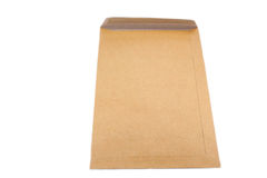 Brown envelope Royalty Free Stock Photography
