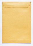 Brown envelope for letter Royalty Free Stock Image