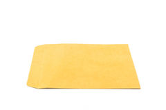 Brown envelope. Royalty Free Stock Image