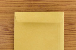 Brown envelope Royalty Free Stock Images
