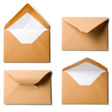 Brown Envelopes Stock Photos