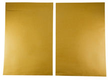 Brown envelopes. Stock Images
